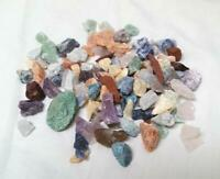 Crafters Rock Collection 1/2 Lb Mix Gems Crystals Natural Mineral Specimens