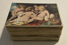 Lot Of 200 Mixed Antique Post Cards • Mostly Pre-1930 • Over Half Are Posted