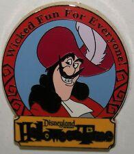 Disney Pass Holder Exclusive DLR Halloween Time Villains Captain Hook LE 500 Pin