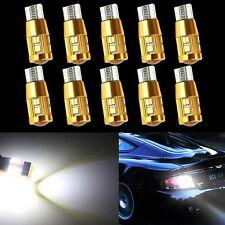 10x T10 3014 6000K 22SMD No Error Canbus LED Car Light Bulb Lamp Bright White