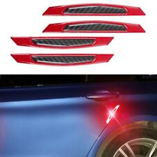 Car Carbon Fiber Reflective Side Door Fender Edge Protection Stickers Universal