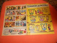 CORRIERE DEI  PICCOLI     NR 9   1962    con inserto  regioni puglie basilicata