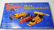 Thunderbirds Aoshima TB2 and Rescue Vehicles Model Kit 34002 from Japan BNIB.