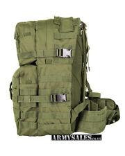 Tactical Olive Green Molle 40L Assault Pack by Kombat UK - Backpack, Rucksack
