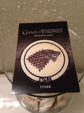 Dark Horse Game of Thrones Stark House Crest Embroidered Patch Cosplay