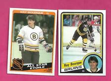 2 X 1984-85  OPC BRUINS RAY BOURQUE  CARD (INV# D1647)
