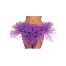 Purple Tutu Sexy Short Mini Skirt Adult Womens Halloween Costume Accessory