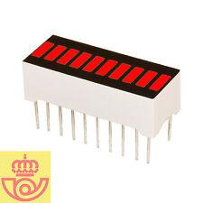 Display led 10 segmentos ROJO (Arduino, prototipos)