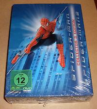 DVD Spider-Man Box Teil 1 + 2 Collector's Edition ( Spiderman ) blau Neu OVP