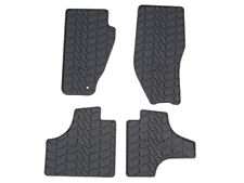 11-12 Jeep Liberty New Slush Floor Mats Dark Slate Gray Mopar Factory Oem