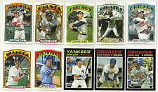 2013 Topps 1972/1971 Minis - Complete Set - 150 Cards