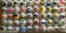 50 NASCAR RACING TEAM & SPONSERS LOGO'S 1 INCH MARBLES