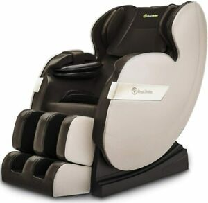 RealRelax Full Body Shiatsu Massagesessel Favor-03 plus TJX Farbe Braun