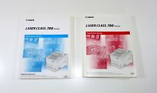 Genuine Canon Books - Laser Class 700 Reference Manual and Facsimile Guide OEM