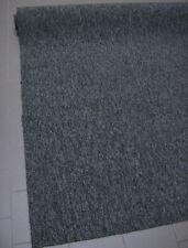 Teppichboden Auslegware 200x300 Feinschlinge Anthrazitgrau mit Vliesrücken NEU