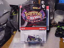 Hot Wheels Larry's Garage Shift Kicker Purple with Real Rider Tires
