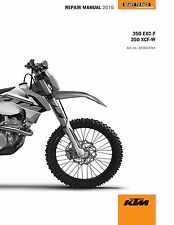 KTM Service Workshop Shop Repair Manual Book 2016 350 EXC-F