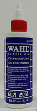 NEW WAHL Lubricated Blade Oil for Hair Clipper Trimmer Shaver 4 oz