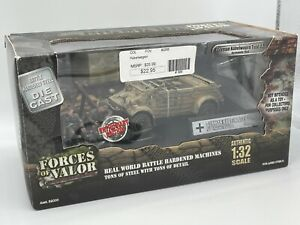 Forces of Valor 1:32 German Kubelwagen Type 82 Normandy 1944 New In Box - RARE