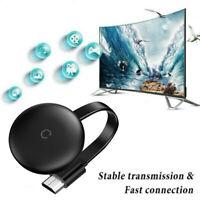 HDMI 5G Same Screen Adapter Digital Dongle Video Streamer ABS Black 4K Media