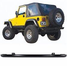 Rampage Frameless Tinted Soft Top & Header Channel Set 97-06 Jeep Wrangler TJ