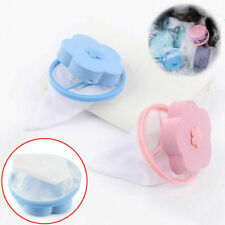 2PC Laundry Filter Bag Floating Pet Lint Hair Catcher Washing Machine Mesh Pouch