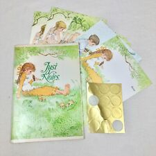 Vintage Current Inc Just A Notes Stationery Set Fold Over Children And Pets