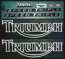 Kit completo Triumph Speed Triple955i - adesivi