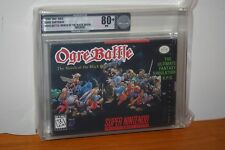 Ogre Battle (Super Nintendo SNES) - NEW SEALED V-SEAM, NM VGA 80+, SUPER RARE!
