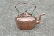 Vintage copper kettle old traditional copper kettle - FREE DELIVERY