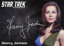 Star Trek TOS Archives Inscriptions LE Silver autograph Sherry Jackson as Andrea