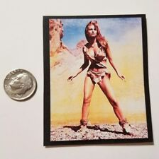 """1 Miniature Playscale Gi Joe Pin up Girl Poster 3"""" Raquel Welch Bc Movie"""