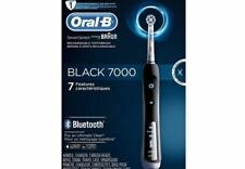 Oral-B Precision Black 7000 Rechargeable Electric Toothbrush Brand New