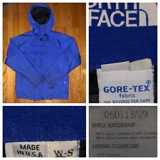 Vtg The North Face Women's Blue Gore Tex Blue Tag Rain Jacket Size Small USA