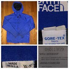 1e4160856a3e Vtg The North Face Women s Blue Gore Tex Blue Tag Rain Jacket Size Small USA