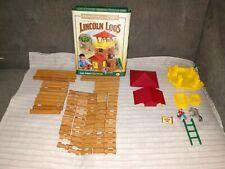 Original Lincoln Logs Toy Building Set Frontier Junction (100 pcs) complete