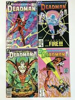 DEADMAN #1 2 3 4 (1986) | COMPLETE MINI-SERIES; CANADIAN NEWSSTAND VARIANT
