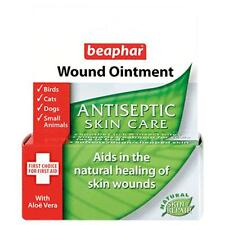 Beaphar Dog Cat Rabbit Natural Wound Ointment Antiseptic Skin Treatment 30ml