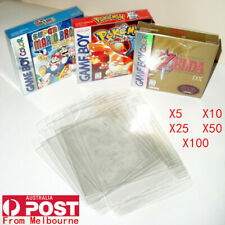 Thick GAME BOX PROTECTORS Cases Nintendo GameBoy / Color / Advance BOXED
