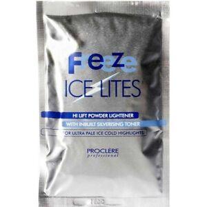 Proclere Professional Freeze Ice Lites Bleach Sachet 50ml hair toning anti brass