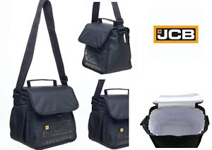 Adults/Men JCB Cool Bag Lunch Bag Thermal Insulated Cool Box Bag Lunch Box Small