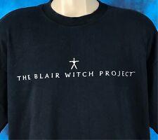 vintage 90s The Blair Witch Project Movie T-Shirt Xl promo film hip hop