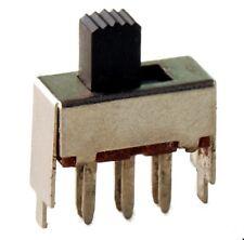 2xUm Print.-Lötanschluss Hebel 7mm Schiebeschalter-2-polig 1St.