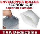 enveloppe à bulle ECONOMIQUE  pochette matelassée expédition papier ou plastique <br/> enveloppe bulle pochette protection pour envoi poste