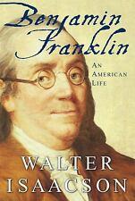 BENJAMIN FRANKLIN by Walter Isaacson FREE SHIPPING Hardcover book memoir America