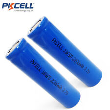 18650 x2 Li-ion Batteries PKCELL 3.7V 2200mAh Rechargeable Vape Mod Battery