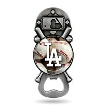 Los Angeles Dodgers Party Starter Magnetic Pewter Magnet Bottle Opener Baseball