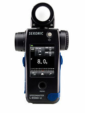 NEW Sekonic L-858D-U Speedmaster Light Meter for flash and 1° Spot Metering