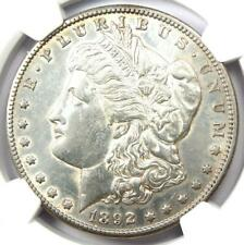 1892-CC Morgan Silver Dollar $1 Carson City Coin. NGC Certified. AU / UNC Detail
