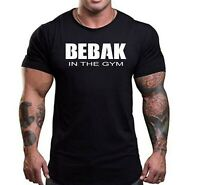 Mens Gym T Shirt  Bodybuilding Top Workout Clothing  BEBAK Training Top VEST MMA
